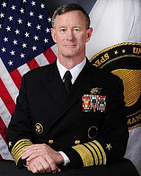 Naval Adm. William H. McRaven, ninth commander of U.S. Special Operations